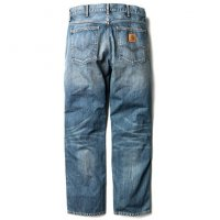 Carhartt Western Pant Blue Coast Washed L34