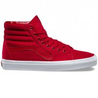 Vans Sk8-Hi Mono Canvas Red